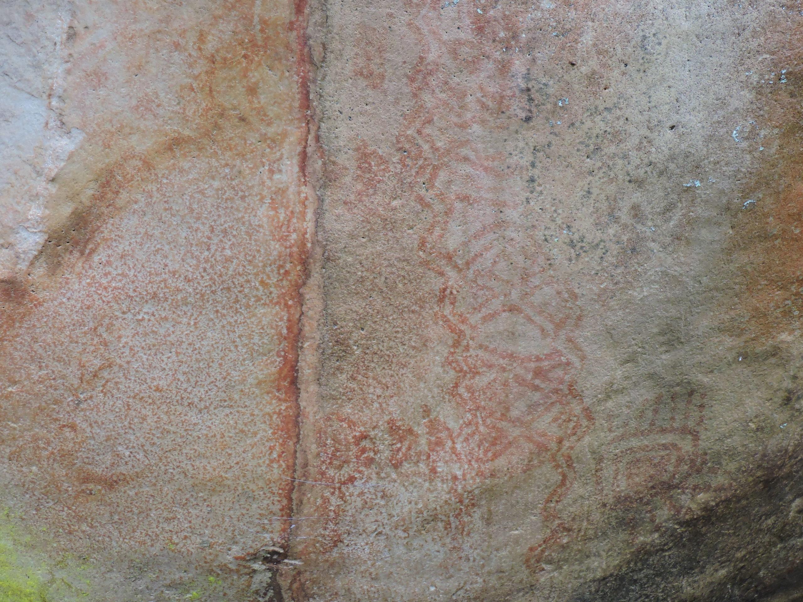 Piedra el Fucha, Jeroglífico Muisca. Foto: El de La Ruana